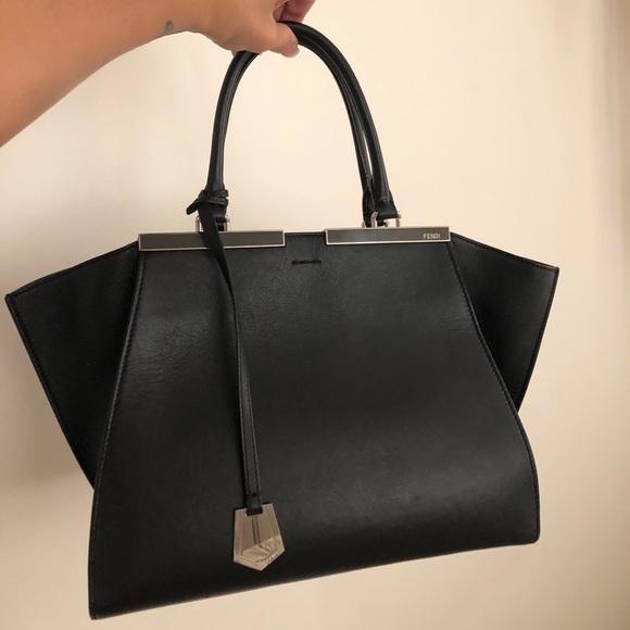 Fendi Handbags - Classic Black Fendi Bag